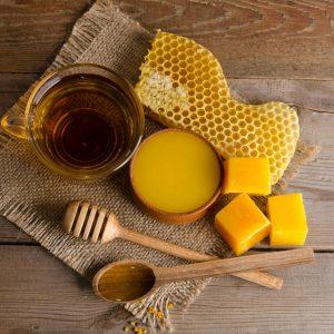miel y cera de abejas